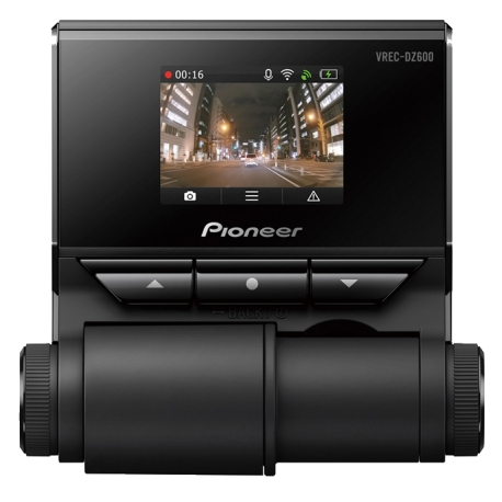PIONEER VRECDZ600 FULL HD 1- CHANNEL DASH CAM WITH COLOUR SCREEN