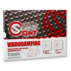 SILENT COAT EXTRA SHOP PACK 6 SHEETS