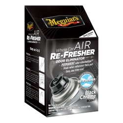 MEGUIARS G181302 AIR REFRESHER BLACK CHROME